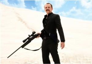 Simon Pegg as Hitman